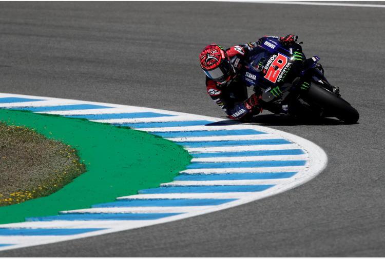 Moto: Quartararo salta test Jerez, accertamenti al braccio