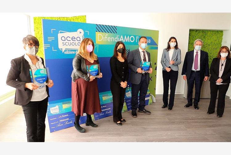 Acea premia studenti vincitori del progetto risparmio idrico e ambiente
