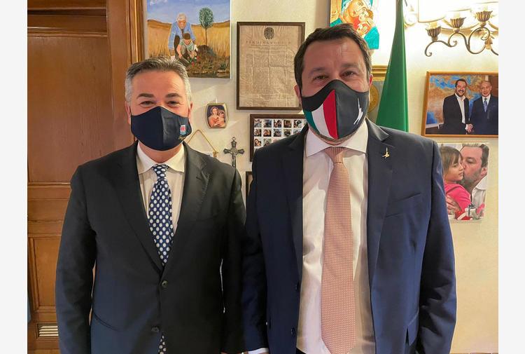 Sindaco Foggia Franco Landella (Lega) verso dimissioni