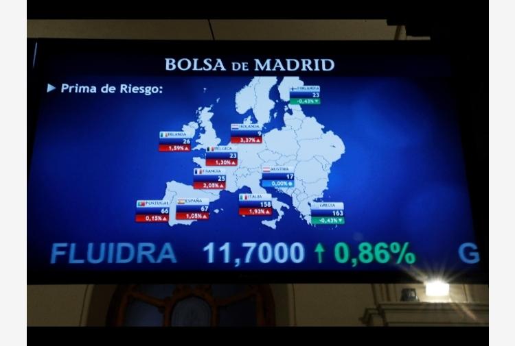 Borsa: Europa chiude in calo, pesa Francoforte -2,49%