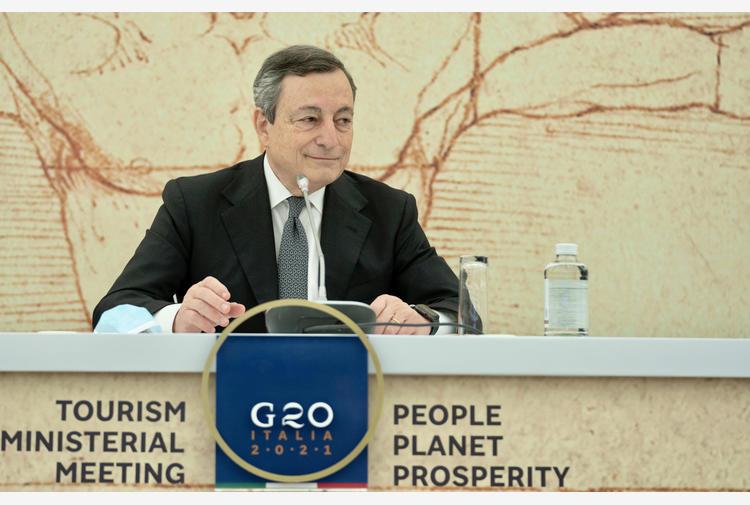 Italia-Algeria:colloquio tra Draghi e il presidente Tebboune