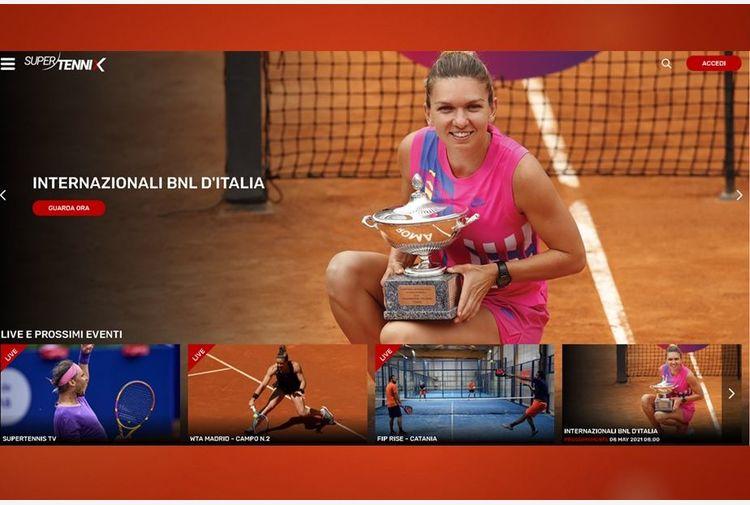 SuperTenniX, la 'netflix' del tennis italiano: interazione, mobilità e passione