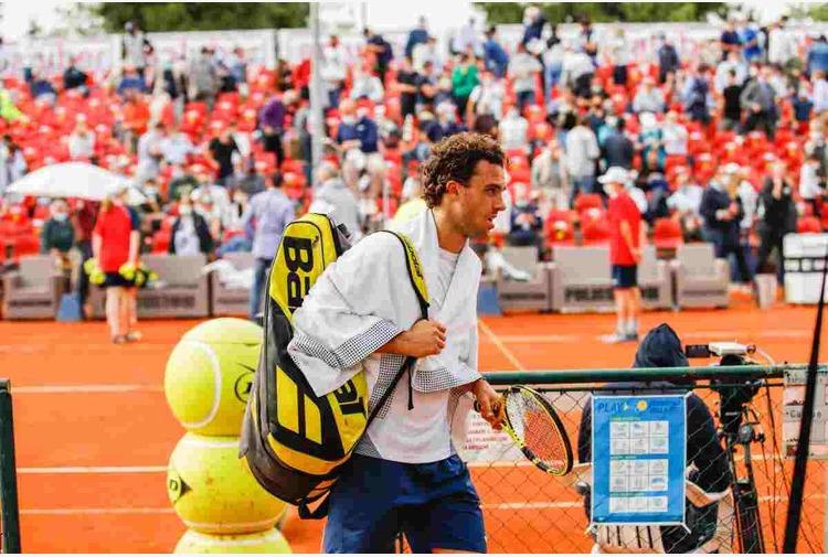 Tennis: Cecchinato sfiora l'impresa a Madrid ma è eliminato