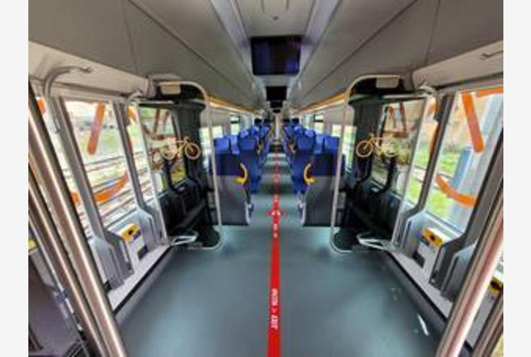 Ferrovie, il nuovo Treno Pop debutta sui binari d'Abruzzo