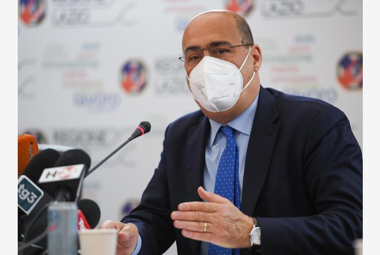 Zingaretti, aperto primo hub vaccinale aziendale nel Lazio