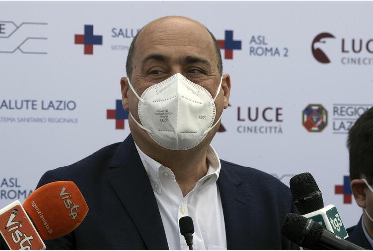 Covid:Zingaretti,ho fatto vaccino,orgoglioso lavoro comunità