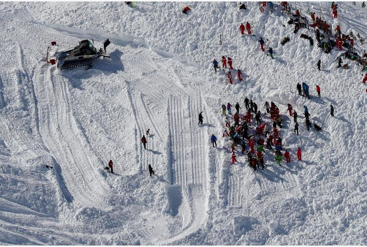 Sette morti in due valanghe sulle Alpi francesi