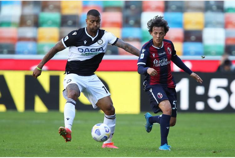 Serie A: Udinese-Bologna 1-1