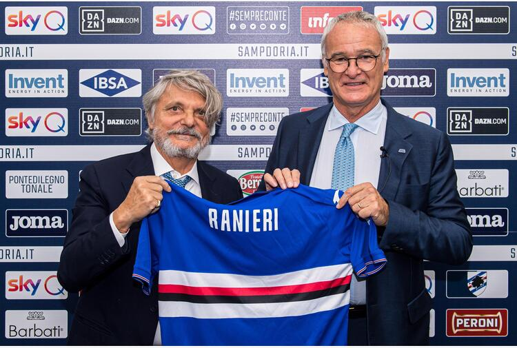 Samp, Ferrero in arrivo a Genova per Ranieri