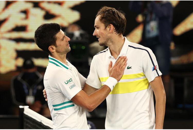 Classifica ATP: dietro Djokovic torna Medvedev, Berrettini al 9° posto
