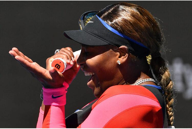 Serena Williams: 'Amo Roma, peccato giocare senza tifosi'