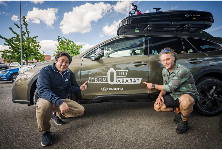 Subaru Outback accompagnera' Nico Valsesia in 'From 0 to Ararat'