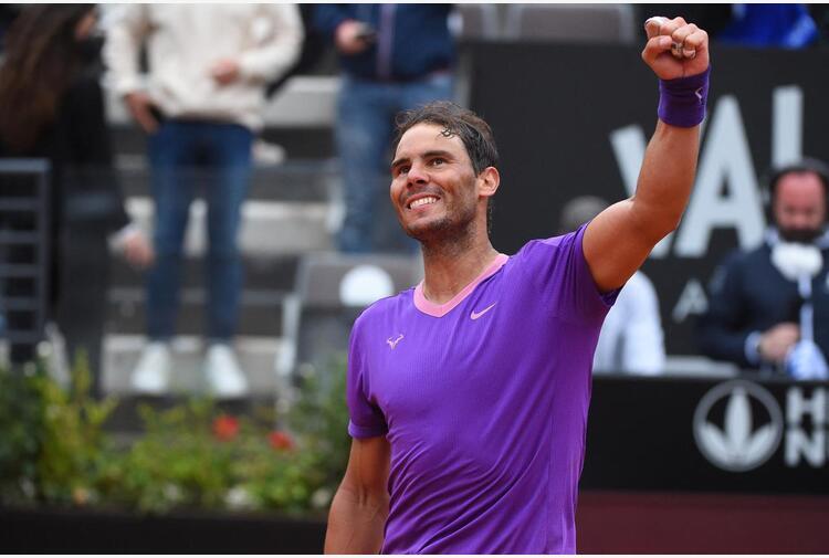 Nadal batte Djokovic e trionfa a Roma per la decima volta