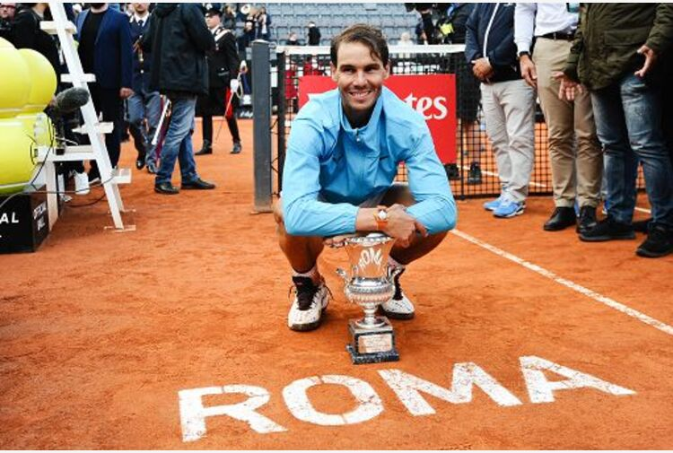 Internazionali, vince Rafa Nadal, Djokovic battuto in tre set