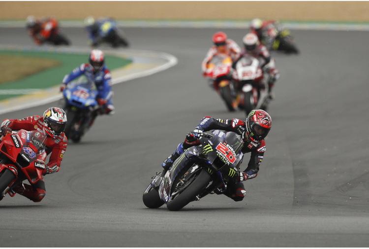 ++ Moto: in Francia grande Ducati, vince Miller e Bagnaia 4/o ++