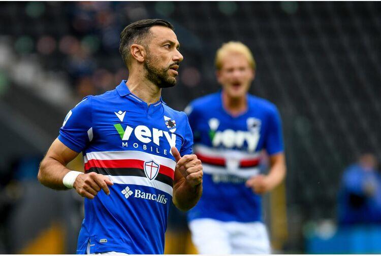 La Samp vince di rigore a Udine, 1-0 firmato Quagliarella