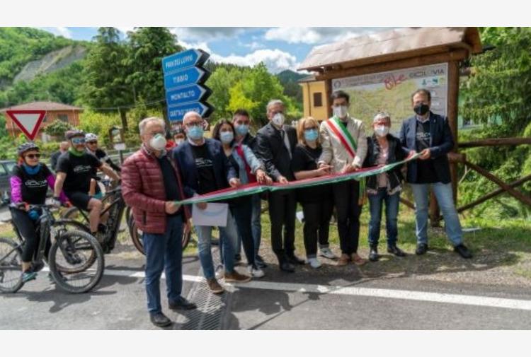 La Ciclovia di San Vicinio unisce Romagna e Toscana attraverso le Foreste casentinesi