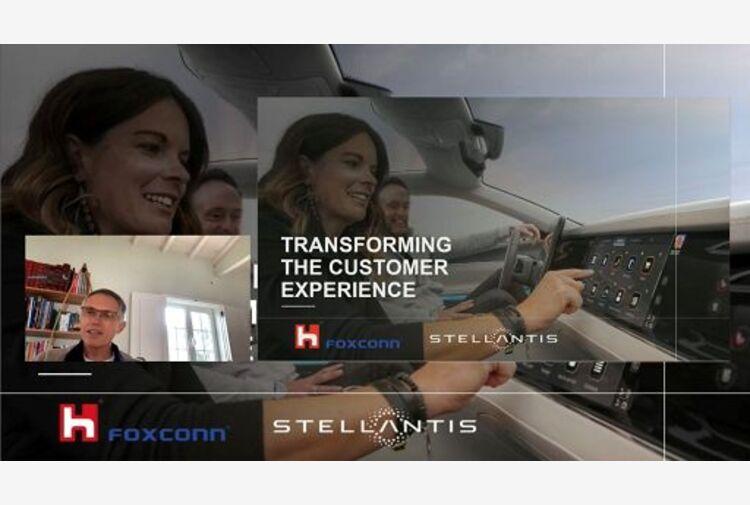 Stellantis-Foxconn creano Mobile Drive, software a centro dell'auto