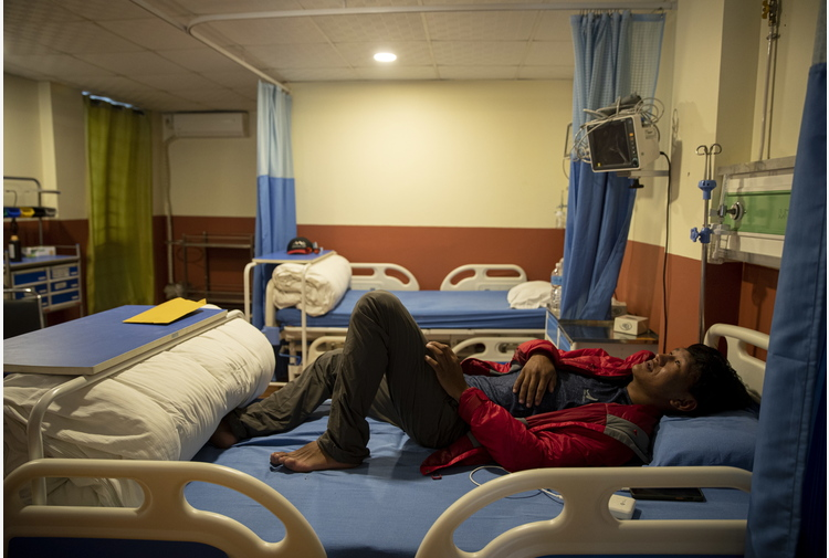 Covid: alpinista, campo base Everest come ospedale da campo