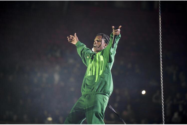 'E' lei', ASAP Rocky conferma storia d'amore con Rihanna