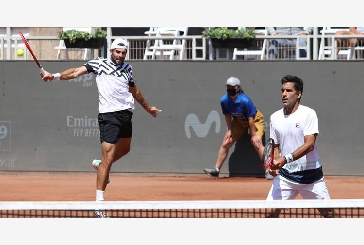 Ginevra: Bolelli/Gonzalez centrano la finale di doppio