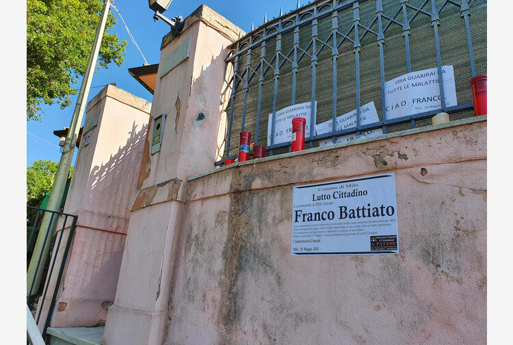 Battiato, 'vincolo culturale' sulla sua villa a Milo