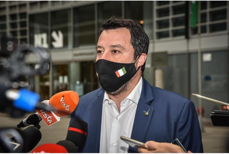 Governo: Salvini, Meloni da Draghi? Io l'ho sentito ieri