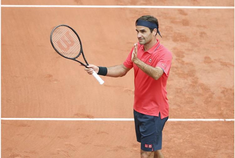 Roland Garros, Federer agli ottavi 'Non so se giocherò con Berrettini'