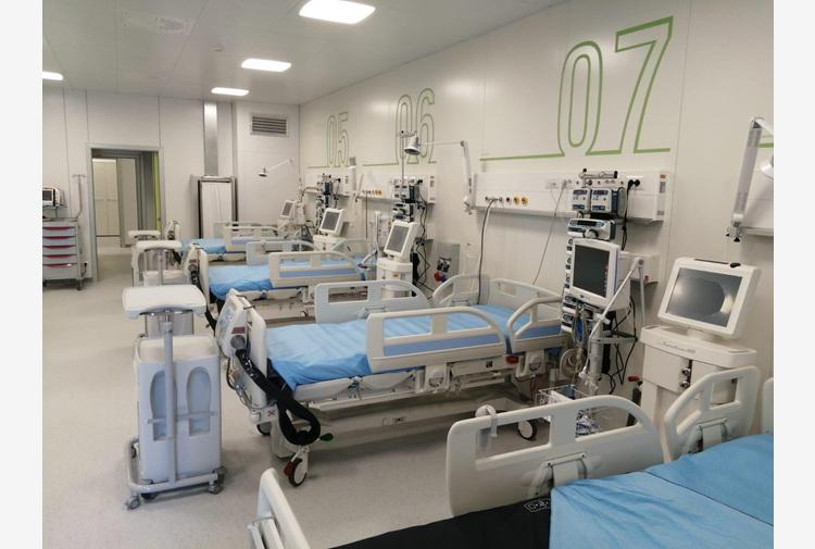 Scendono a cinque pazienti Covid in intensive Umbria