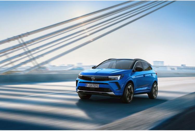 Per nuovo Opel Grandland tecnologie d'avanguardia