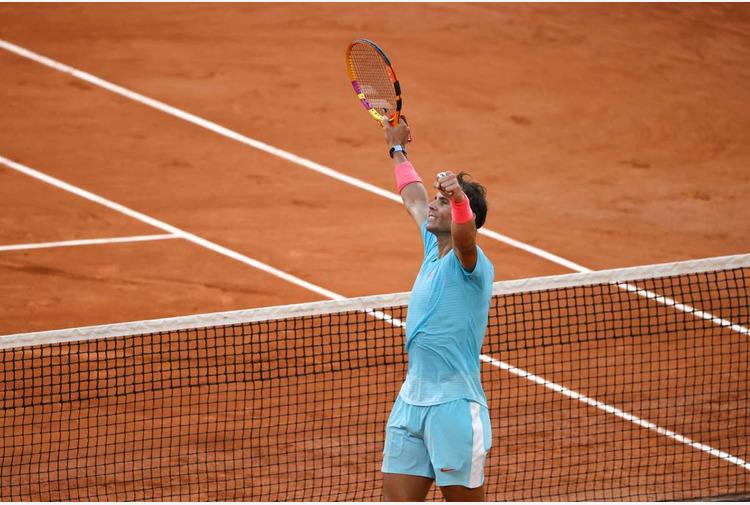 Tennis: Nadal è il terzo semifinalista al Roland Garros