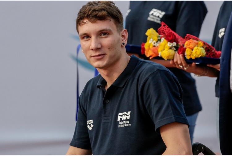 Nuoto: Bortuzzo 'Voglio tornare a camminare e andare alle Olimpiadi'