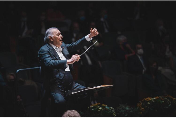 Maggio; Mehta dirige seconda tappa ciclo Brahms