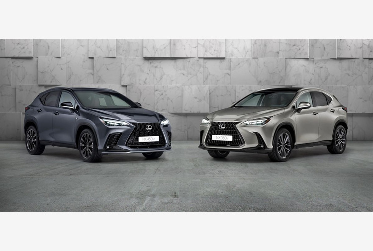 Anteprima mondiale del nuovo Lexus NX