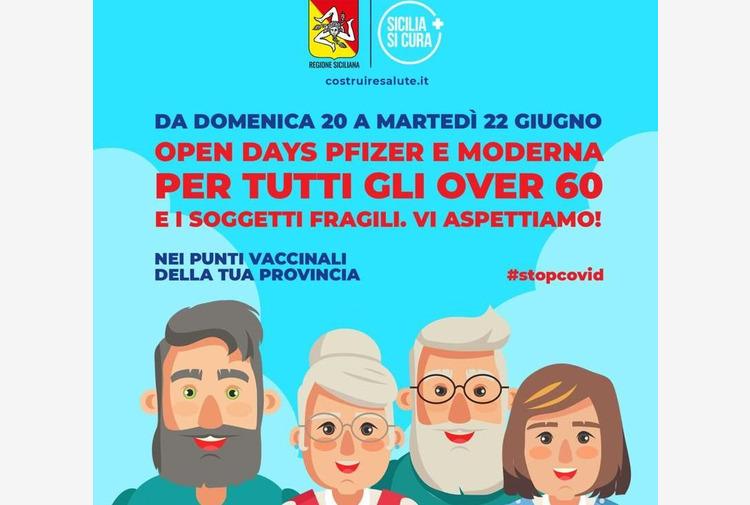 Vaccino, in Sicilia 'open days' per over 60 con Pfizer e Moderna