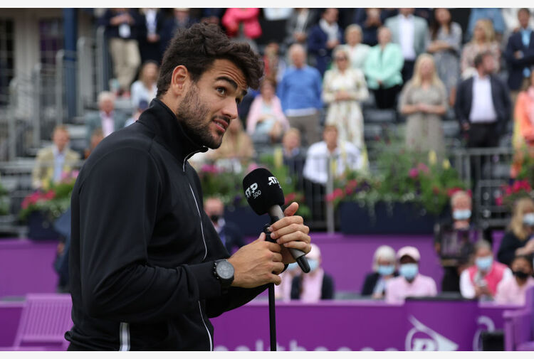 Berrettini promette: 'A Wimbledon so di poter far bene'