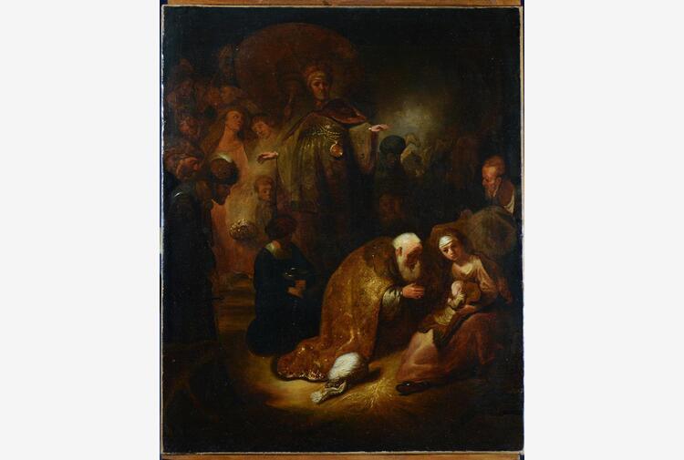 Un Rembrandt perduto ritrovato dopo secoli a Roma