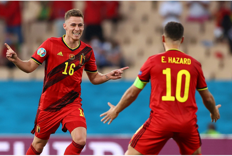 Belgio per l'Italia ai quarti di finale, eliminato il Portogallo di Ronaldo