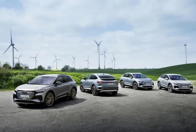 Audi manda in pensione l'endotermico
