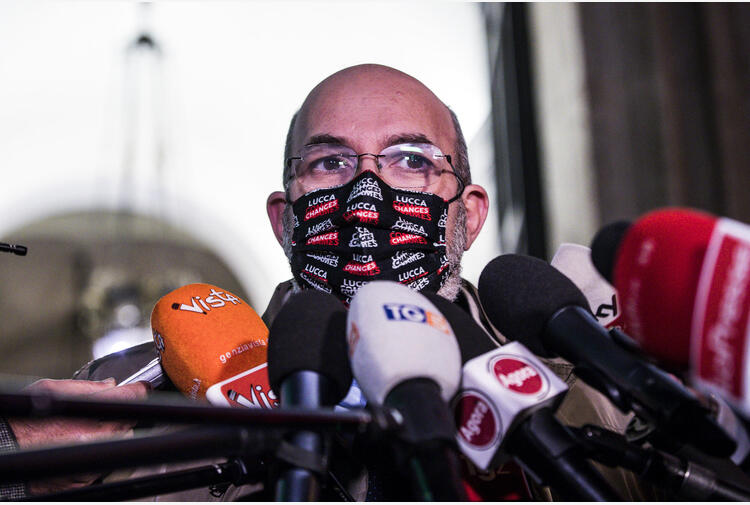 M5S:Crimi,voto non può avvenire su Rousseau