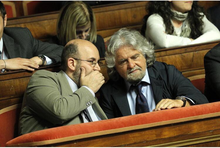 Grillo a Crimi, autorizza voto su Rousseau entro 24 ore