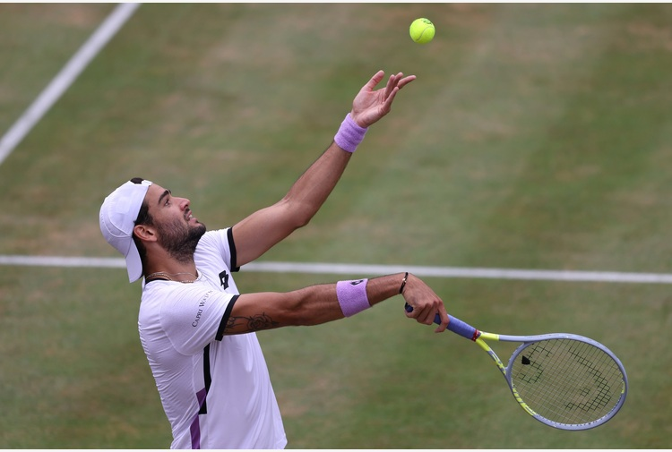 Wimbledon: tocca a Berrettini e Sonego. Altri 4 azzurri in campo tra 1° e 2° turno