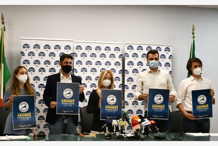 """Centrodestra, Meloni """"No al partito unico, dibattito fuori tema"""""""