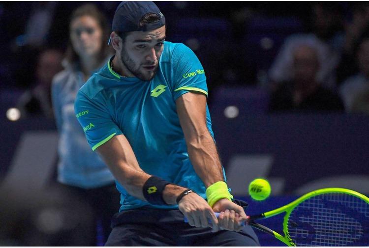 Berrettini vince il primo turno sull'erba di Wimbledon