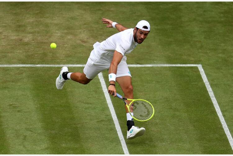 Wimbledon, Berrettini vola al terzo turno