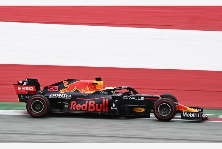 F1: Austria;1/e libere, Verstappen davanti a Leclerc e Sainz