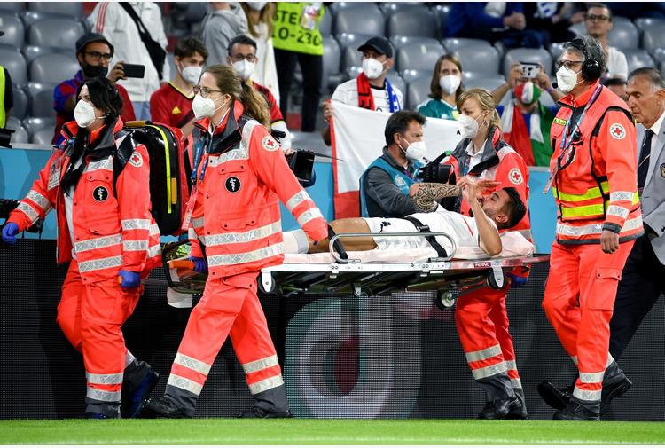 Euro2020: Confermata la rottura del tendine d'Achille per Spinazzola