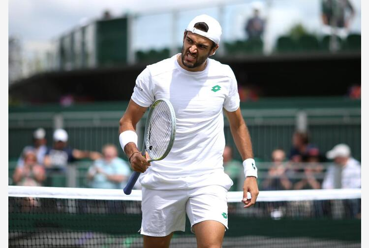 Wimbledon, Berrettini ai quarti: battuto Ivashka in 3 set