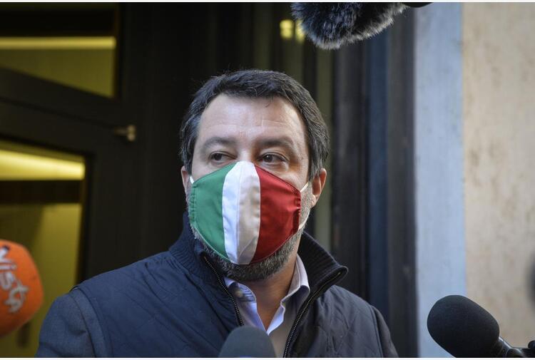 Ddl Zan, Salvini: 'Pd non lo affossi, condividiamo testo'