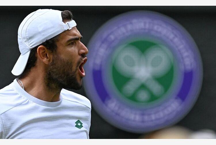 Immenso Berrettini: per la prima volta un azzurro in finale a Wimbledon!